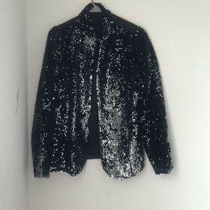 Sparkle blazer